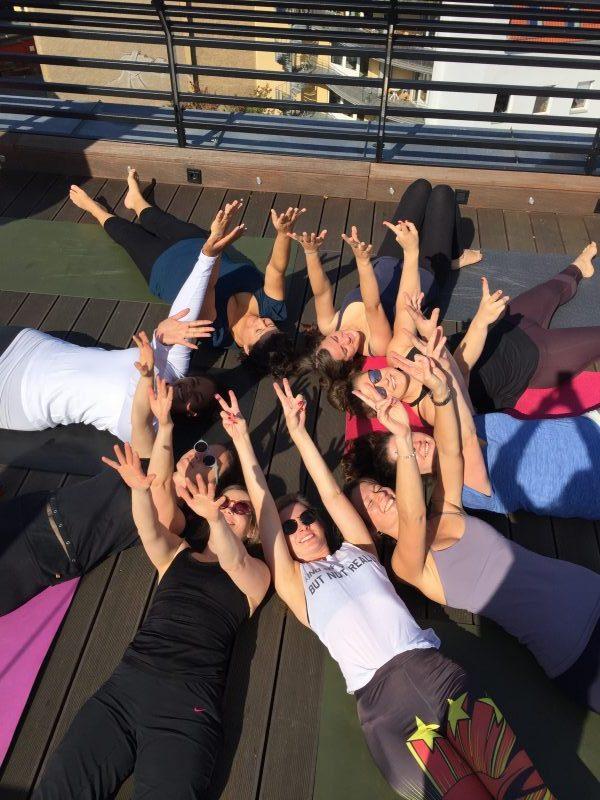 Rooftop Yoga 2018