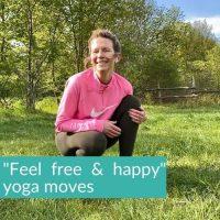 Free & happy Yoga moves